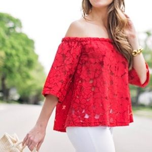 Jack by BB Dakota red OTS top